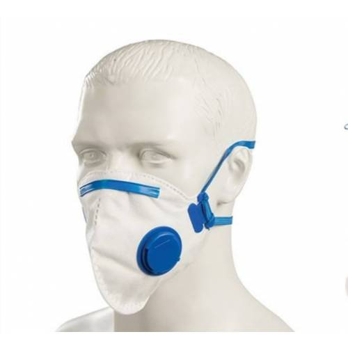 FFP2 Fold Flat Valved Face Mask (25pk)