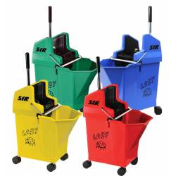 Ladybug Mop Bucket Wringer Combo (14L)