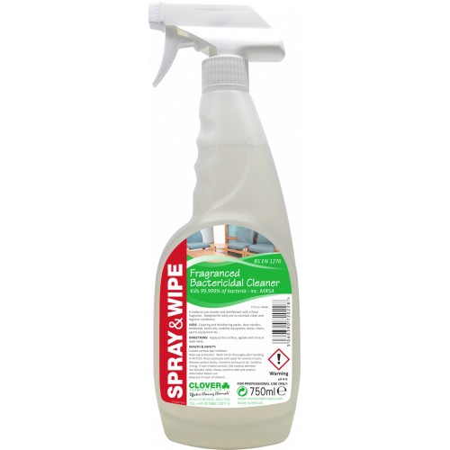 Spray & Wipe (750ml)