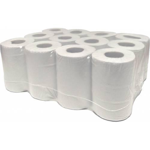 White Mini Centrefeed Rolls (12x60m)